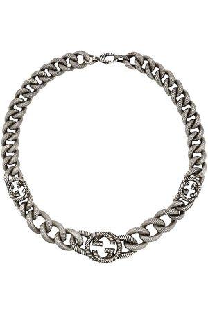 Gucci Logo clasp chain link bracelet