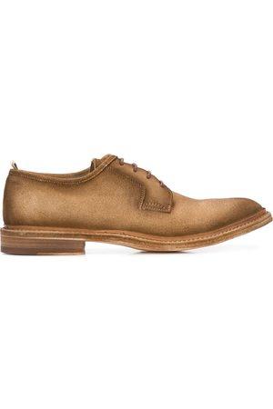 Officine creative Fadded-effect low-heel derby shoes