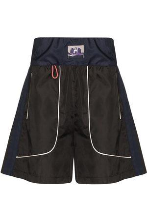 Boramy Viguier Boxing-style Bermuda shorts