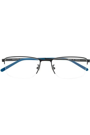 Mont Blanc Two-tone square-frame glasse4s