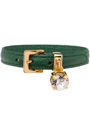 Miu Miu Buckled crystal bracelet