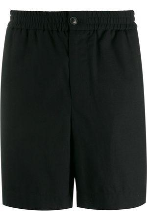 Ami Men Elasticised Waist Bermuda Shorts