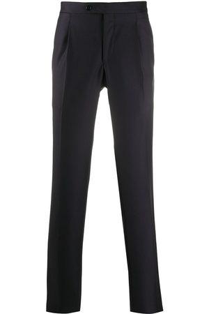 DELL'OGLIO Straight-leg tailored trousers