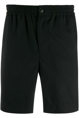 Ami Men Elasticised Waist Bermuda Shorts