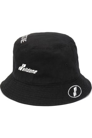 We11 Done Logo-print bucket hat