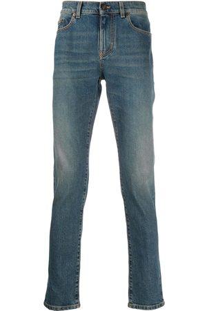 Saint Laurent Faded blue jeans