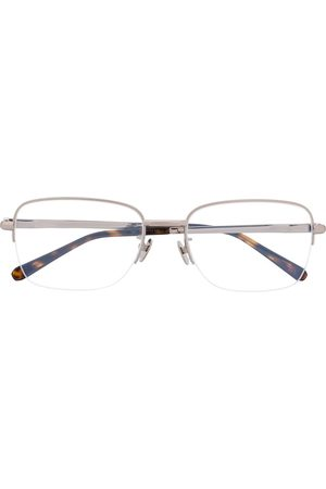 adidas Two-tone square-frame glasses