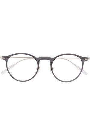 Mont Blanc Sluneční brýle - Polished round-frame glasses