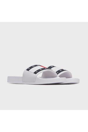 Tommy Hilfiger Pánské bílé pantofle