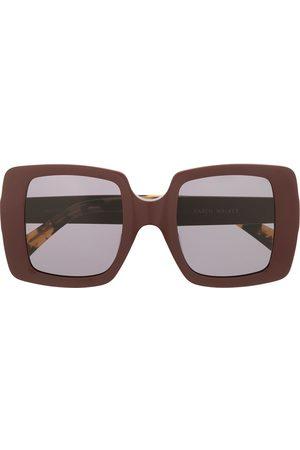 Karen Walker Sluneční brýle - Square tinted sunglasses