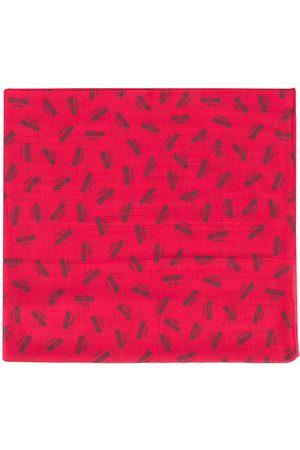 Moschino Logo print scarf
