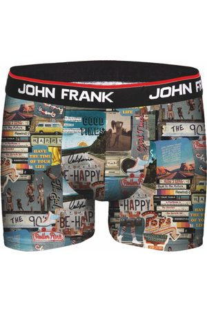 JOHN FRANK Pánské boxerky JFBD292 L
