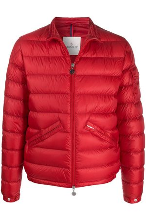 Moncler Quilted zipped padded jacket
