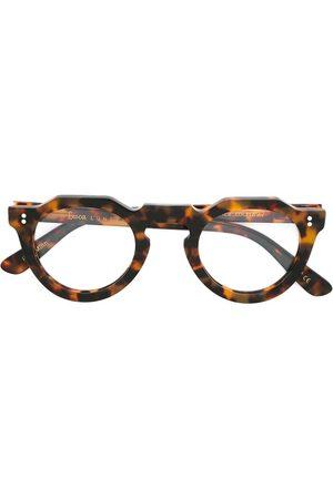 LESCA Pica' tortoiseshell glasses