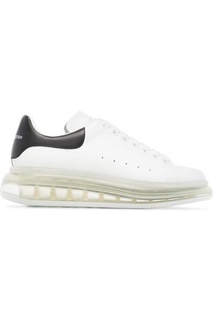 Alexander McQueen Oversized leather platform sneakers