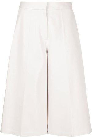 DESA 1972 Leather cropped palazzo trousers