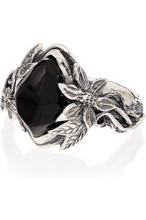 Lyly Erlandsson Muži Prstýnky - Aria sterling silver stone ring