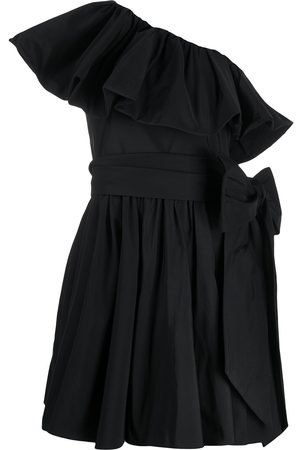 VALENTINO Asymmetric ruffled dress