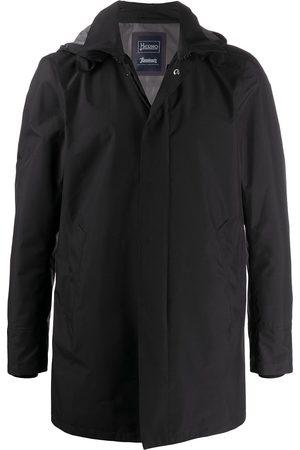 HERNO Zip-up hooded jacket