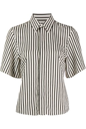 Ami Striped short-sleeve shirt