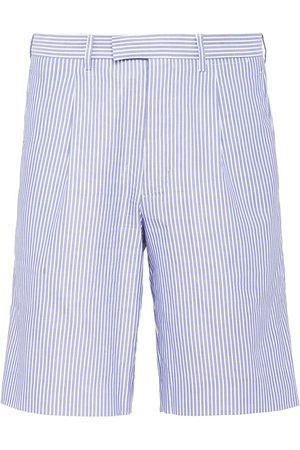 Prada Striped Bermuda shorts