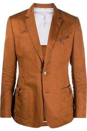 Gianfranco Ferré 1990s notched lapel slim-fit blazer