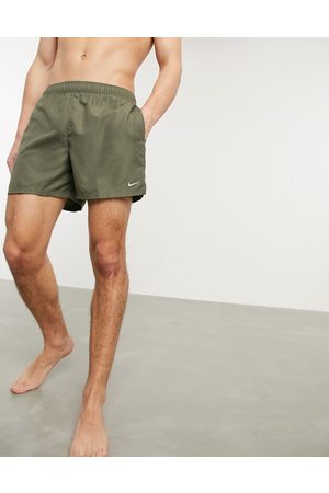 Nike 5inch Volley shorts in khaki-Green