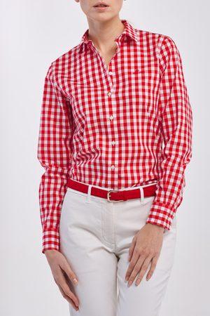 GANT Košile The Broadcloth Gingham Shirt