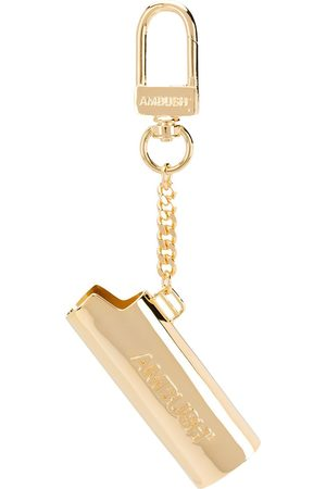AMBUSH Engraved logo keyring