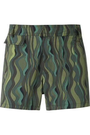 AMIR SLAMA Ondas tactel swim shorts