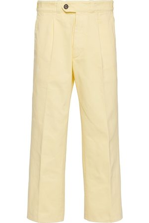 Prada Cropped straight-leg trousers