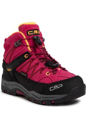 CMP Dívky Pohorky - Kids Rigel Mid Trekking Shoes Wp 3Q12944