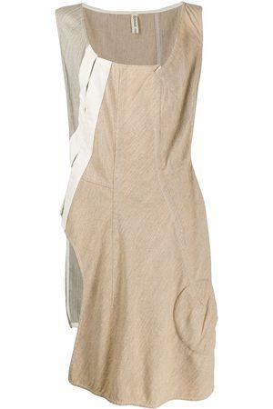 Comme des Garçons 1999 patchwork asymmetric dress