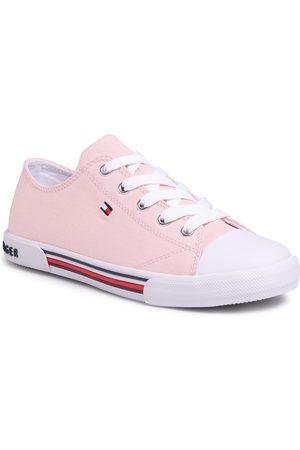 Tommy Hilfiger Dívky Tenisky - Low Cut Lace-Up Sneaker T3A4-30605-0890 S