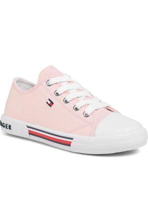 Tommy Hilfiger Dívky Tenisky - Low Cut Lace-Up Sneaker T3A4-30605-0890 M
