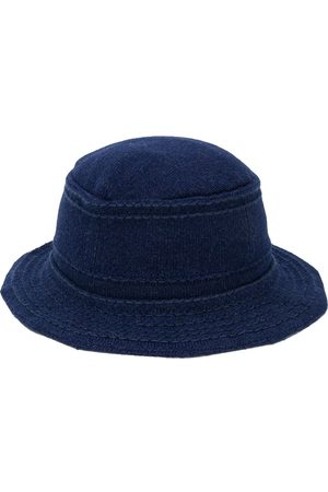 Barrie Stitch detail bucket hat