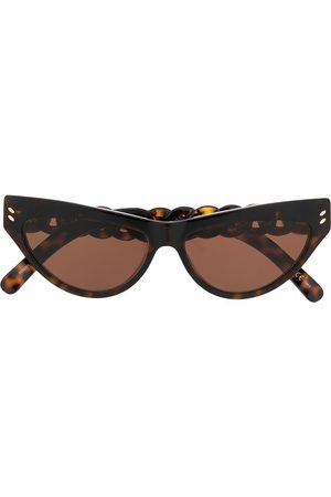 Stella McCartney Cat-eye chain detail sunglasses