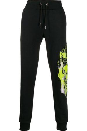 Philipp Plein Skull embellished track trousers