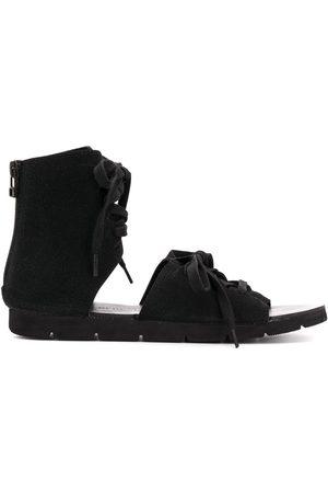 YOHJI YAMAMOTO Ženy Sandály - Lace-up gladiator sandals