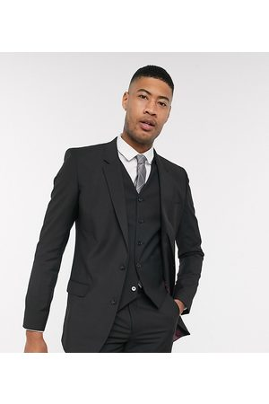 ASOS Muži Saka - Tall slim suit jacket in black