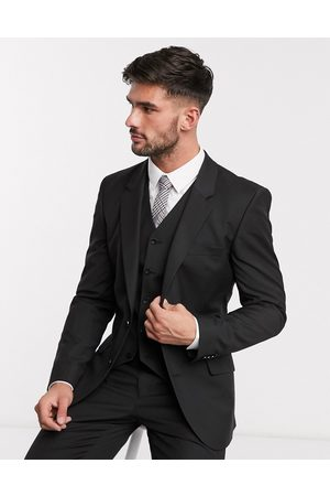 ASOS Slim suit jacket in black
