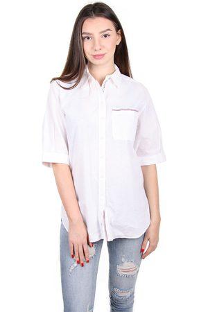 Tommy Hilfiger Ženy S krátkým rukávem - Dámská košile s krátkým rukávem
