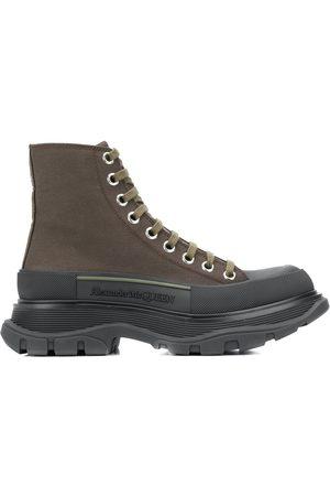 Alexander McQueen Ženy Šněrovací - Chunky sole lace-up boots