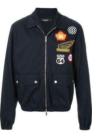 Dsquared2 Patchwork bomber jacket