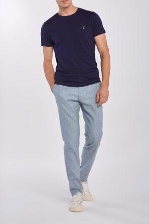 GANT Kalhoty D2. Slim Stretch Linen Suit Pant