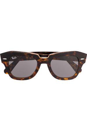 Ray-Ban Tortoiseshell round frame glasses