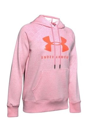 Under Armour Mikiny Rival Fleece Sportstyle Graphic Hoodie