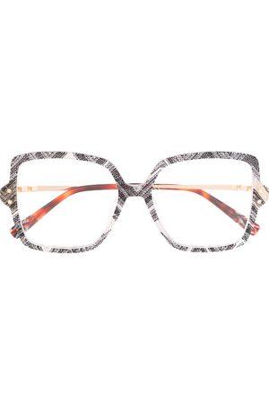 Missoni Oversized frame glasses