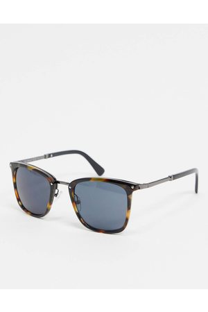 AJ Morgan Square sunglasses in tort-Brown