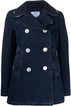 Prada Double-breasted denim jacket